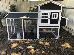 Coop for chickens